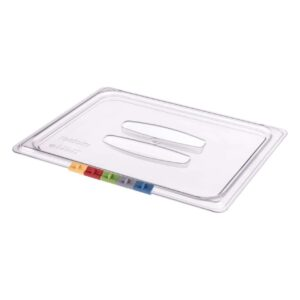 Крышка с ручкой для гастроемкости Restola 1/2, прозрачная - 8 шт/уп