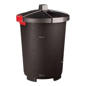Бак для сбора отходов Restola 45 л, чёрный - 5 шт/уп