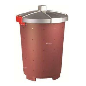 Бак для сбора отходов Restola 45 л, бордовый - 5 шт/уп