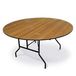 Стол банкетный круглый складной Resto 120 см