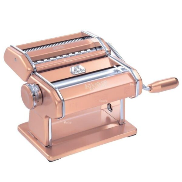 Лапшерезка-тестораскатка ручная Marcato Atlas 150 розовый MAR020408