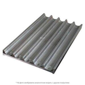 Противень для багетов Pansystem 16310023 600х400 алюм. с тефлон