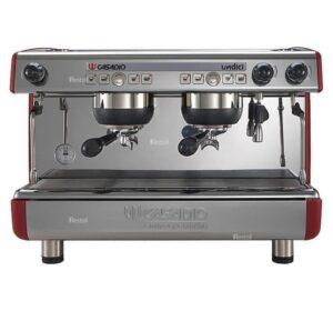 Кофемашина рожковая Casadio Undici A2 высокие группы красная