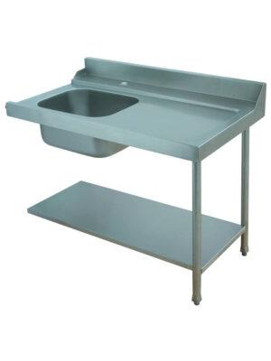 Стол для грязной посуды Elettrobar PAL 120 SX (левый)