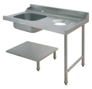Стол для грязной посуды Elettrobar PALS 120 SX (левый)