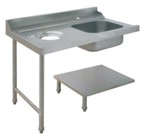 Стол для грязной посуды Elettrobar PALS 120 DX (правый)