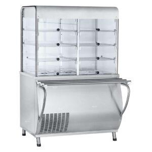 Прилавок-витрина холодильный ABAT «Патша» ПВВ(Н)-70М-С-01-НШ