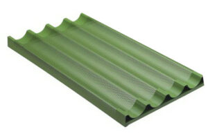 Лист для багетов Bassanina FTVO4060T (400x600) перфорированный тефлон