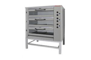 Хлебопекарная печь Восход ХПЭ-750/3 С стекл двери