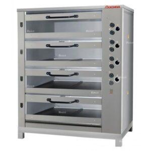 Хлебопекарная печь Восход ХПЭ-750/4 С стекл двери